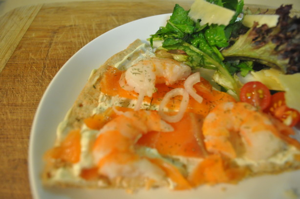 Smoked Salmon Pizza With Red Onion And Dill Recipe - Food.com