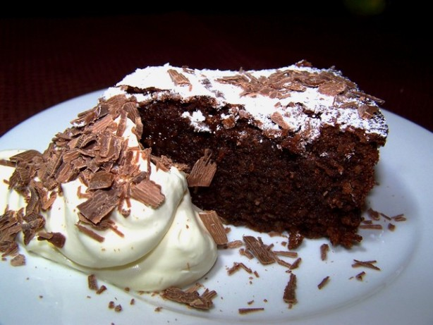 almond chocolate cake no flour recipe