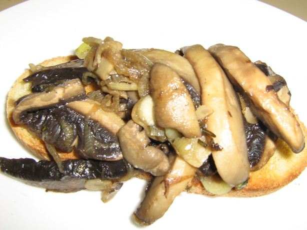 Mushroom Crostini Recipe - Food.com