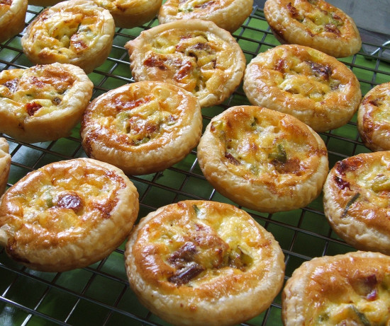 Mini Tomato And Basil Tartlets Recipe - Food.com