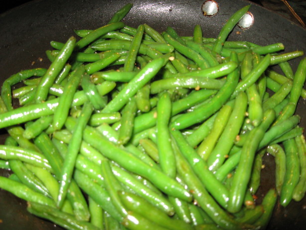 Garlicky Green Beans Recipe - Food.com