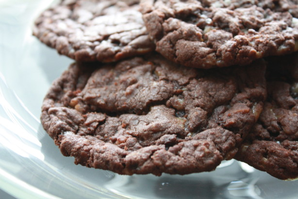 Quick And Easy Chocolate Toffee Cookies Recipe - Food.com
