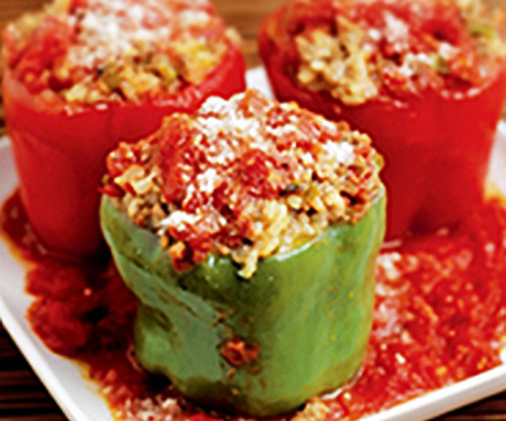 Italian Style Stuffed Peppers Recipe - Food.com