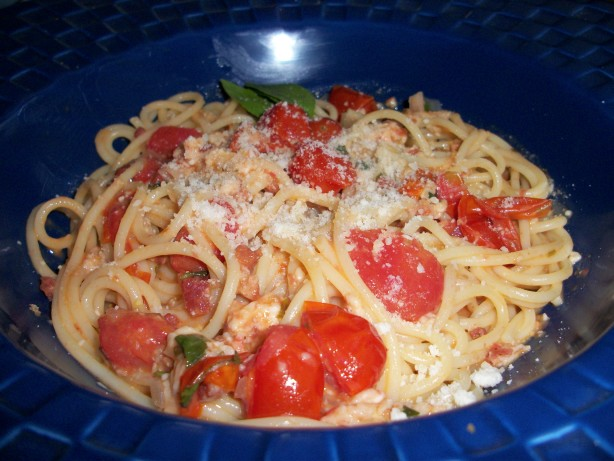 Cherry Tomato Spaghetti Allamatriciana Rachael Ray