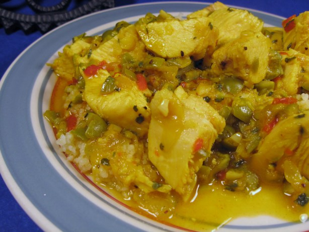 Moroccan Lemon Chicken With Olives Recipe - Food.com