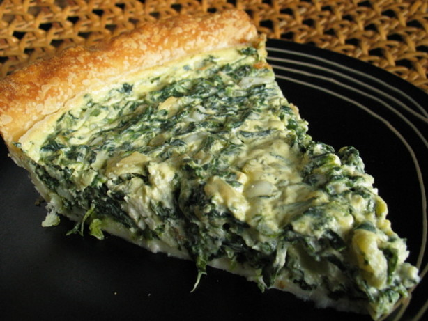 Easy Crust-less Spinach And Feta Pie Recipes — Dishmaps