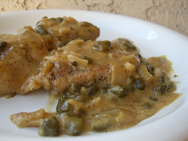 Pork Medallions With Mustard-Caper Sauce Recipe — Dishmaps