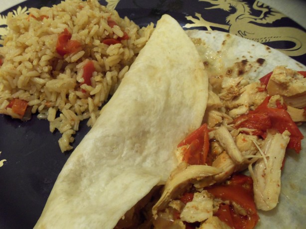 Crockpot Lime Chicken Fajitas Recipe — Dishmaps