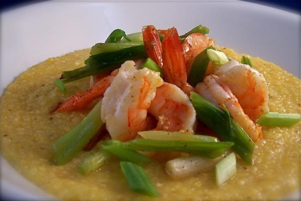 Shrimp And Cheddar Grits Recipe - Food.com