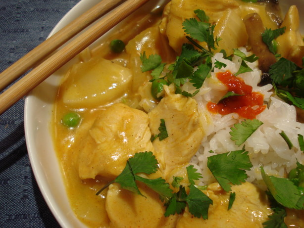Thai Chicken Curry With Pineapple Recipe - Food.com