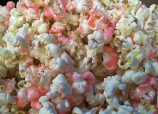 Sweet Pink Popcorn Recipe Food Com