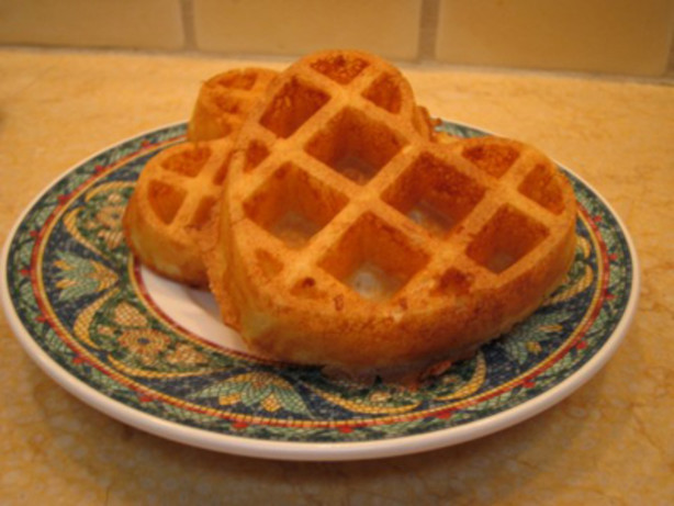 Crunchy And Light Waffles For Two Recipe - Breakfast.Food.com