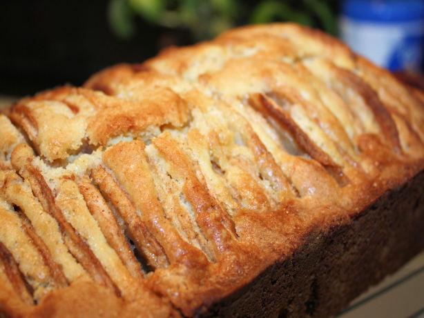 Dutch Apple Cake Loaf