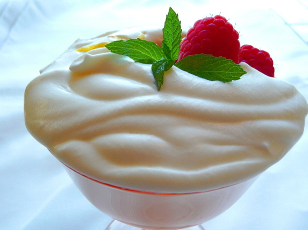 Image Gallery mascarpone cream