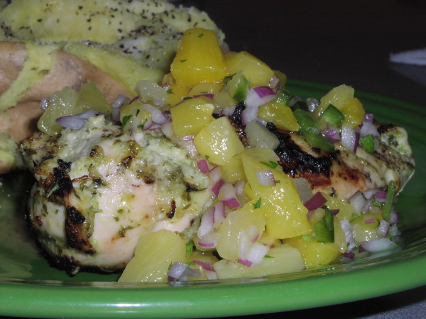 Caribbean Chicken With Pineapple Salsa.... Recipe - Food.com