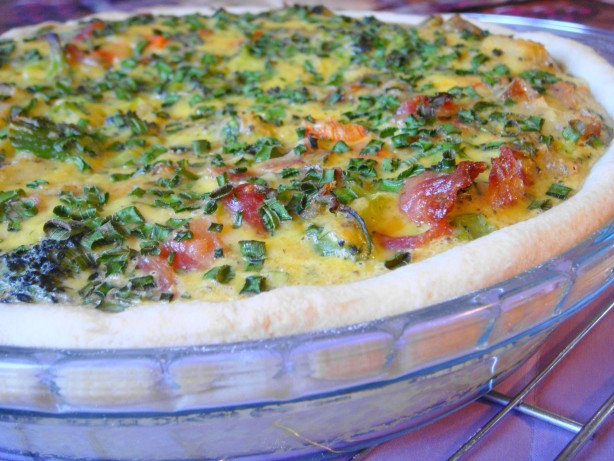 Broccoli, Potato And Bacon Quiche Recipe - Food.com
