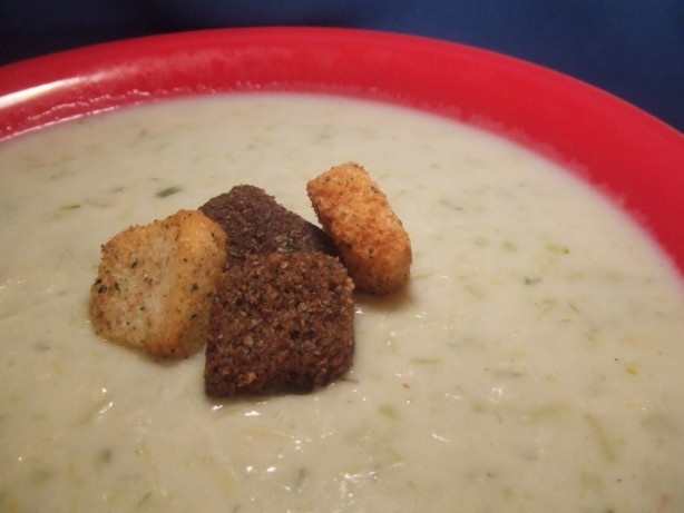 Potato Leek Cheese Soup Recipe - Food.com