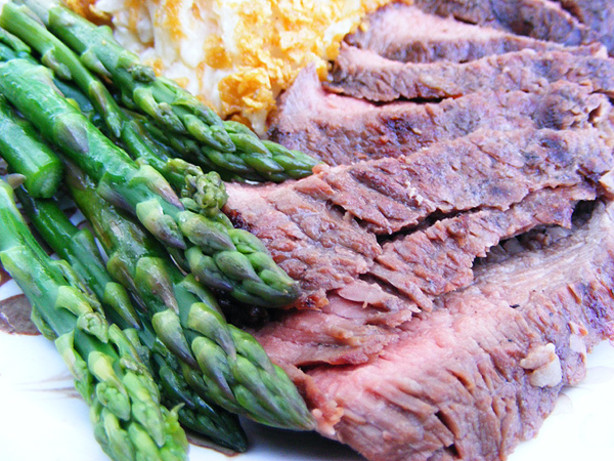 Marinated Grilled Flank Steak Recipe - Food.com