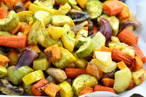 Oven Roasted Vegetables Recipe Food Com