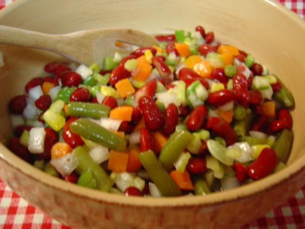 mixed vegetable salad recipes