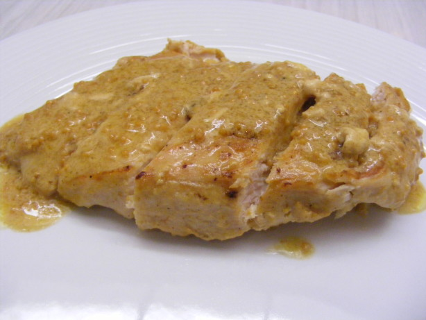 Pan-Seared Chicken With Mustard Sauce Recipe - Food.com