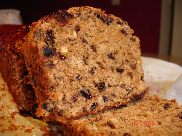 Irish Tea Bread Recipe - Baking.Food.com