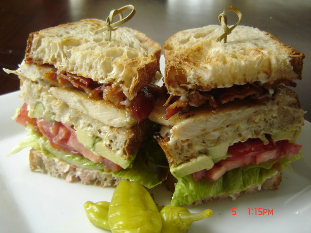 Cobb Club Sandwiches Recipe - Food.com