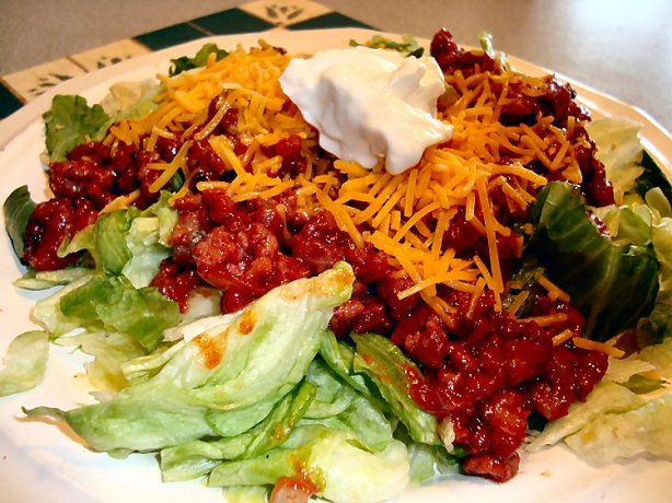 Sweet And Spicy Taco Salad Recipe - Food.com