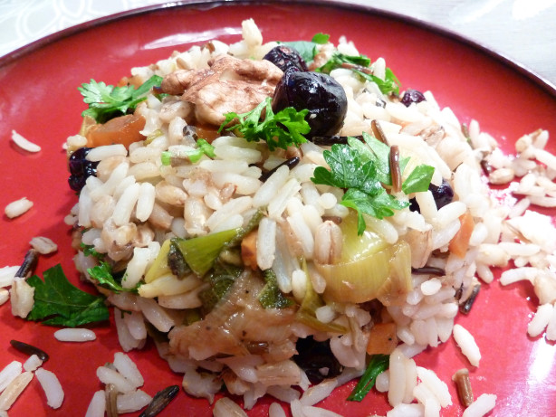 Mixed Rice Pilaf With Dried Cherries, Apricots And ...