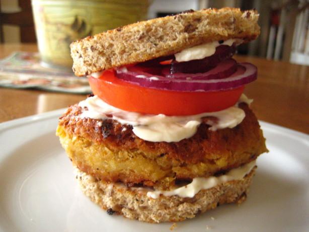 Chickpea Burger Recipe - Food.com