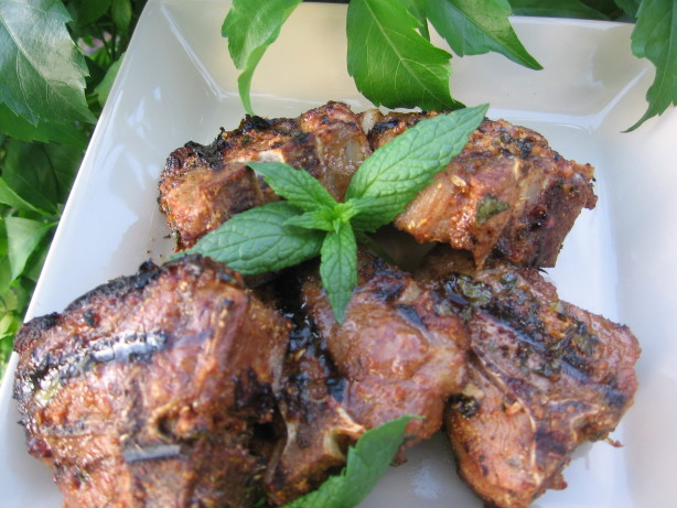 Lamb Chops With Moroccan Spices Recipe Food Com