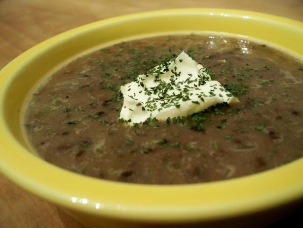 Easy Black Bean Soup Recipe - Food.com