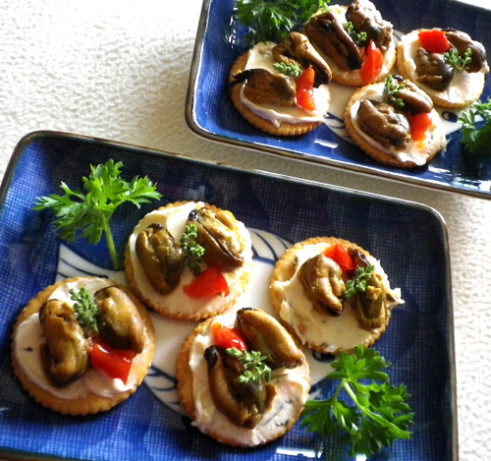 Boomettes Smoked Oysters Appetizers Recipe Food Com