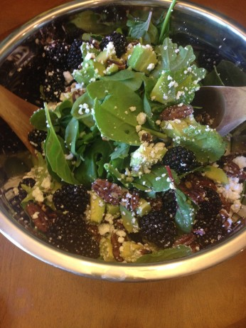 Blackberry Avocado Salad With Balsamic Vinaigrette Recipe - Food.com