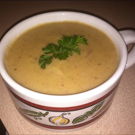 Creamy Vegan Potato-Leek Soup Recipe - Food.com
