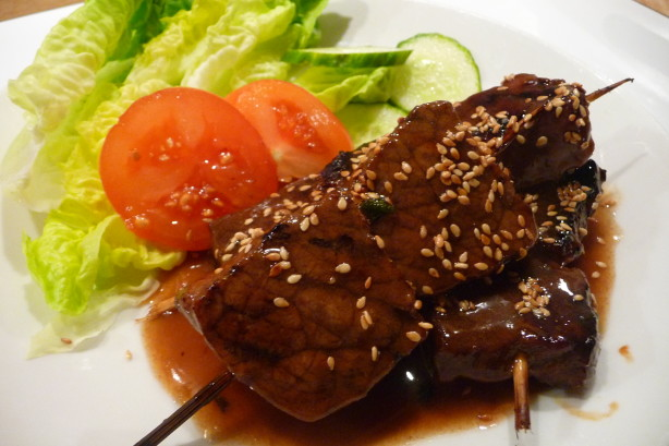 Teriyaki Beef Skewers Recipe - Food.com