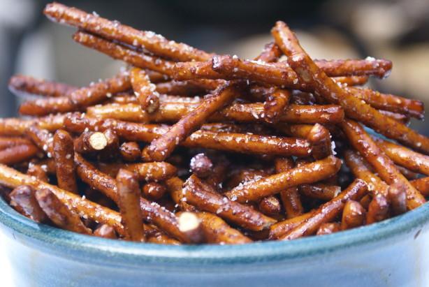 Spiced Honey Pretzels Recipe Food Com