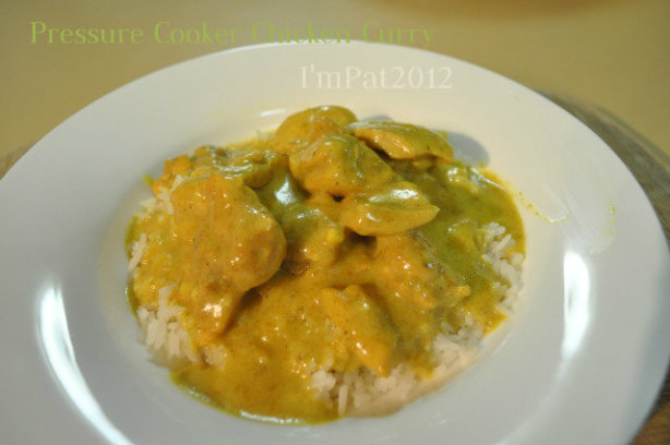 how to make chicken curry in pressure cooker