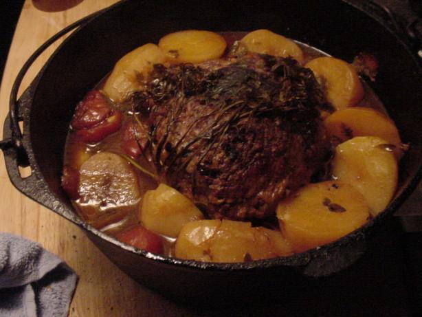 Cast Iron Pot Roast Recipe - Food.com