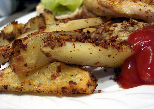 Crunchy Seasoned Oven Fries Recipe - Cheese.Food.com