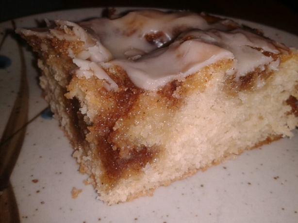 Quick And Easy Cinnamon Bun Bread Cake Recipe - Food.com