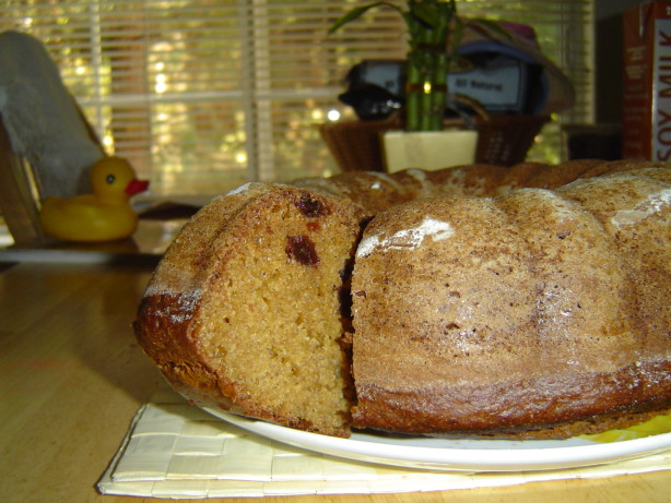 Low Fat Yogurt Cake Recipes: Dannon Low-Fat Apple Spice Cake Recipe