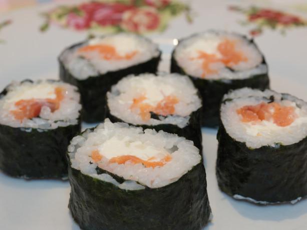 Smoked Salmon Sushi Recipe - Food.com