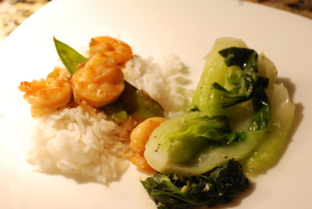 Stir-Fried Ginger Shrimp With Snow Peas Recipe - Food.com