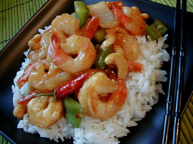 Kung Pao Shrimp With Cashews Recipe - Chinese.Food.com