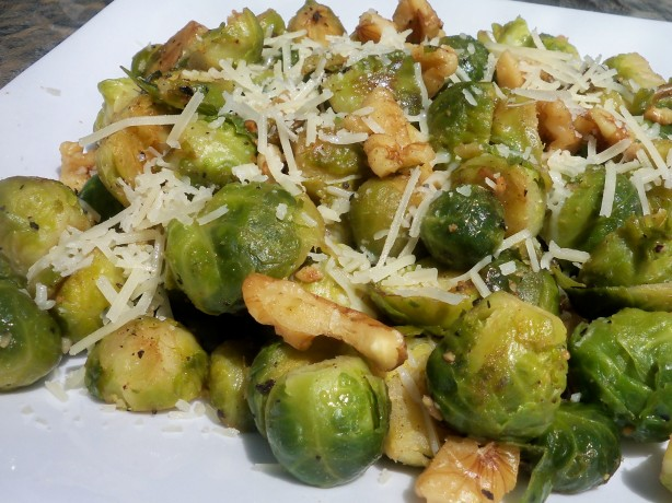 Sauteed Brussels Sprouts With Walnuts Recipe - Food.com