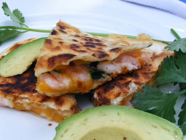 Shrimp Quesadilla Recipe - Food.com
