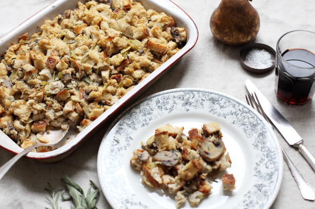 Artichoke Parmesan Sourdough Stuffing Recipe - Food.com