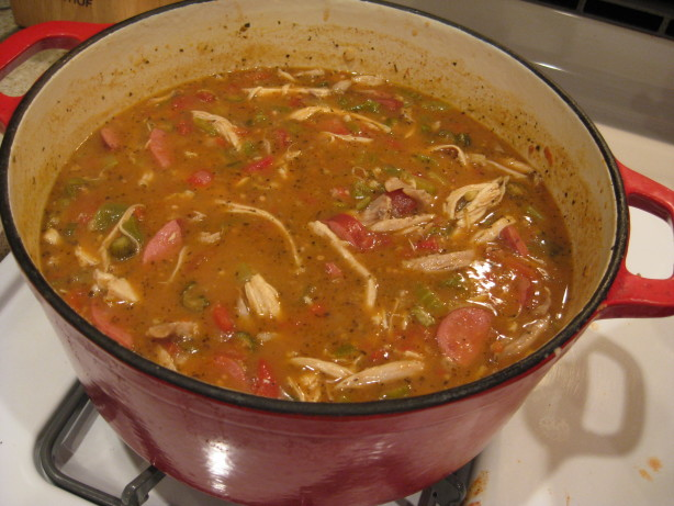 Gumbo Cookoff Winner - Chicken And Sausage Gumbo Recipe ...