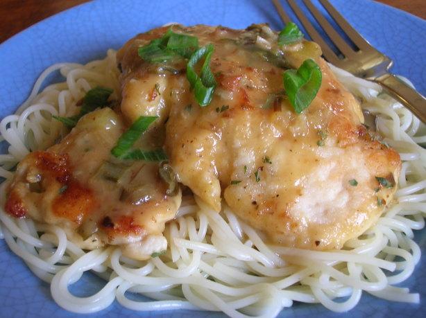 Olive Garden Pollo Limone Lemon Chicken Recipe